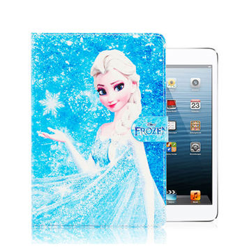 Case for iPad 2 3 4 Coque Cartoon Illustrators PU Leather+Ultra Slim Hard PC Back Cover Smart Case for funda iPad 2 3 4 9.7""