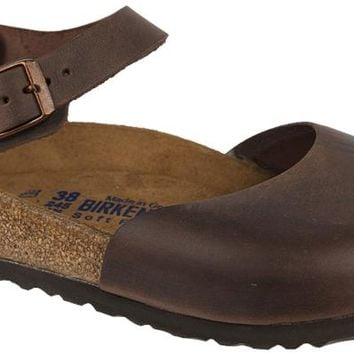 Birkenstock Messina Soft Footbed Women's Clog With Ankle Strap