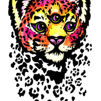 Mystic Cheetah Sticker