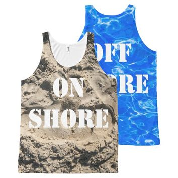On shore - Off shore All-Over-Print Tank Top