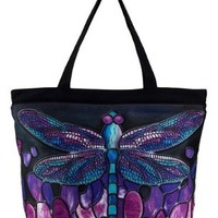 Tiffany Dragonfly Tote Bag