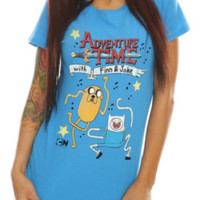 Adventure Time Science Dance Girls T-Shirt
