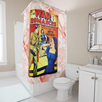 True War Romances #7 Shower Curtain