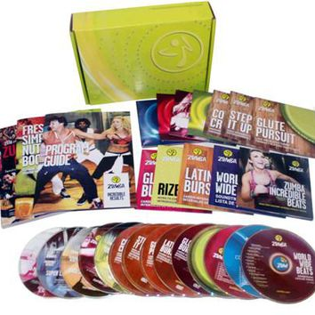 Zumba Fitness Incredible Results Ultimate 11dvd+3cd