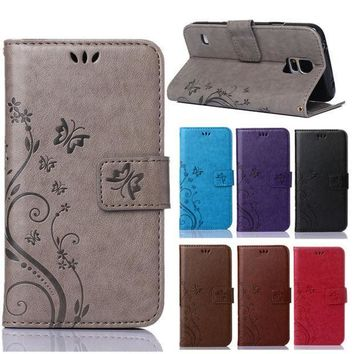 Luxury Retro Pu Leather + Soft Silicon Wallet Flip Cover Case For Coque Samsung Galaxy S5 G900f Sm G900f I9600 Case Phone