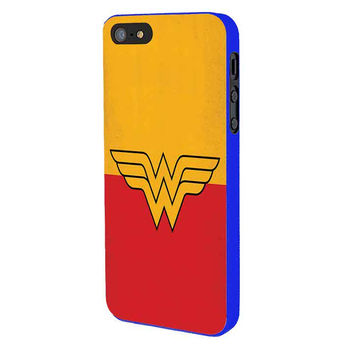 Wonder Woman iPhone 5 Case Available for iPhone 5 iPhone 5s iPhone 5c iPhone 4/4s