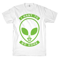 I WANT TO GO HOME TEE - PREORDER