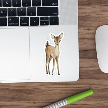 'petit deer' Sticker by Sweet Calico