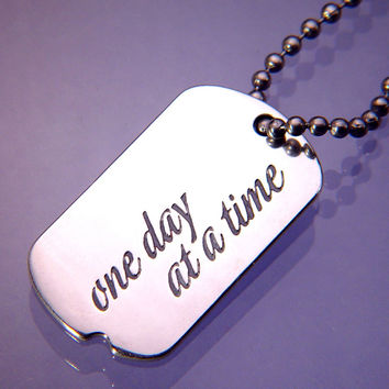 One Day At A Time Sterling Silver