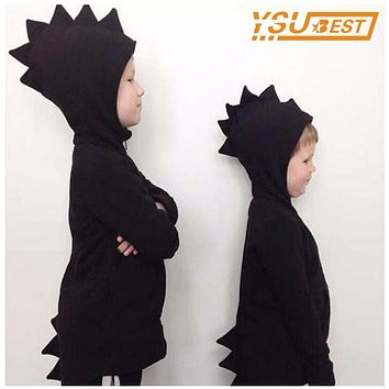 New 2017 Baby Boys Outwear Coat Kid Dinosaur Dragon Hoodies Clothes Shirt Boy Girl Coat Jacket Sweatshirts Outwear Baby Clothing