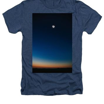 Solar Eclipse, Syzygy, The Sun, The Moon And Earth - Heathers T-Shirt