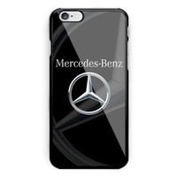 Mercedes Benz Black Logo Automotive For iPhone 6 6s 7 8 X Plus Har Plastic Case