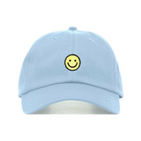 Smiley Face Dad Hat