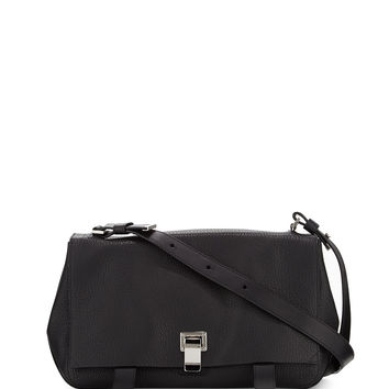 PS Courier Shoulder Bag, Black - Proenza Schouler