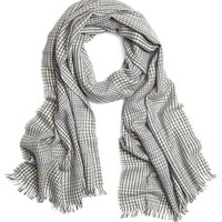 Houndstooth Cashmere Scarf - Brooks Brothers