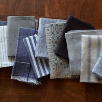 Creative Women Textiles Pulled Napkins : MARCH