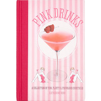 River Island Womens Pink Drinks cocktail book
