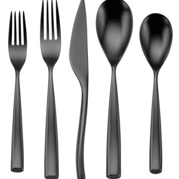 Oneida Flatware 18/10, Romano Black 5 Piece Place Setting - Flatware & Silverware - Dining & Entertaining - Macy's
