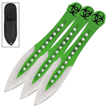 Cyanide Zombie 3 Pcs Throwing Knife Set