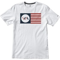 RVCA Independence T-Shirt - Short-Sleeve - Men's White,
