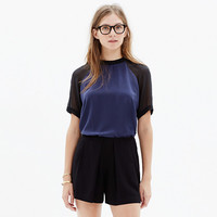 Silk Front Row Tee in Colorblock