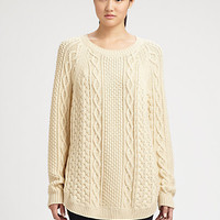 MICHAEL MICHAEL KORS - Fisherman Cable-Knit Sweater