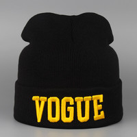 Vogue Knitted Hats for Women