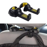 Car Styling Environmental Multifunctional Vehicle Seat Back Hook On Board Sundry Pothhook Internal Accessories High Quality