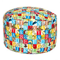 Dr. Seuss Alphabet Seuss Petite Pouf Chair