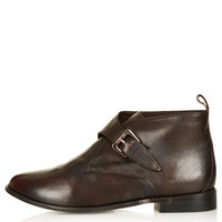 MOTEL Monk Strap Leather Boots - New In This Week - New In - Topshop USA
