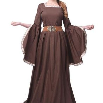 Custom Medieval Renaissance Dress Cosplay Costume