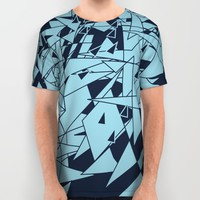Glass DB All Over Print Shirt by Matt Leyen