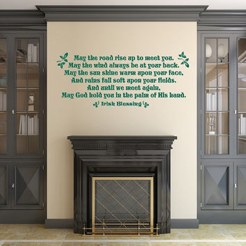 Irish Blessing Vinyl Wall Decal 22511