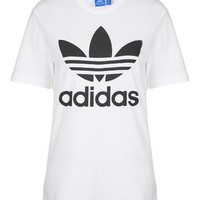 Trefoil Tee By Adidas - White