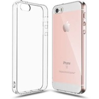 iPhone 5SE Case, Shamo's Clear [Shock Absorption] Cover TPU
