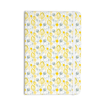 "Julie Hamilton ""Willow Wisp"" Yellow Gray Everything Notebook"