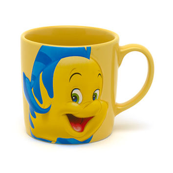 Disney The Little Mermaid Character Mug, Flounder | Disney Store