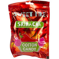 Sriracha Cotton Candy