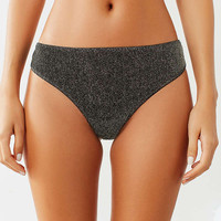 Out From Under Izzy Sparkle Thong   Urban Outfitters