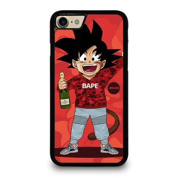 DRAGON BALL Z X BAPE CAMO iPhone 4/4S 5/5S/SE 5C 6/6S 7 8 Plus X Case