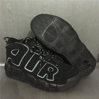 AIR MORE UPTEMPO AIR 3M Black/Gray Size 40---46