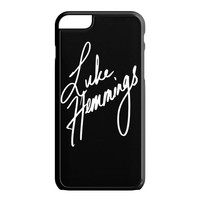 Luke Hemmings Sign 5SOS iPhone 6 Plus Case