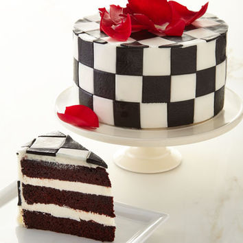 6 Checkered Chocolate Cake