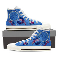 Blue Dream Catcher Shoes