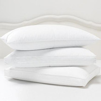 Jumbo White Goose Feather Pillow - Sears