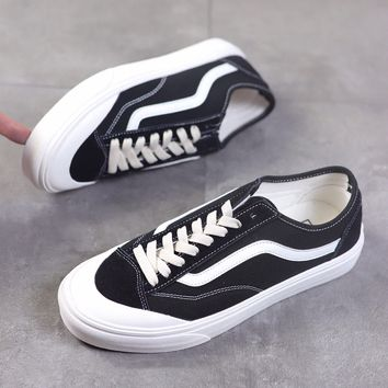 """""""Vans Style 36 Decon SF"""" Unisex Classic Casual Retro Skateboard Plate Shoes Couple Sneakers"""