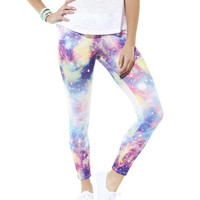 Cosmic Cotton Candy Legging | Shop Just Arrived at Wet Seal