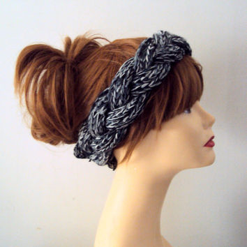 Knitted Braided Headband Chunky Twisted Headband Bandana Yoga Fitness Workout Running Winter Bandeau Women Hair Accessories Gift Ideas