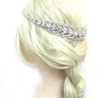 Bridal Headpiece Hair Jewelry, Wedding Hair Jewelry, Clip in Hair Accessorie