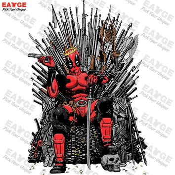 "Deadpool ""King of the Iron Throne"" Fashion Shirt"